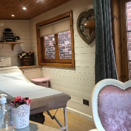 Beauty Lodge West Moor_ interior image with massage table